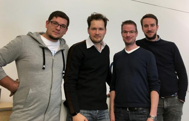 Bild von dem Adlicious Team und mir